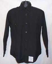 Black Shirt US Navy Dress Blues High Military Quality 18.5x36