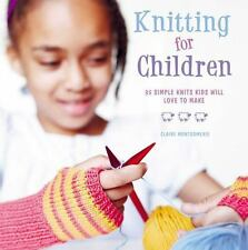 Knitting for Children: 35 Simple Knits Kids Will Love to Make-ExLibrary