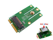 Adaptateur M2 (NGFF) vers miniPCIe Pour WIFI Bluetooth Compatible Intel 7260NGW