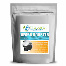 30 BEARD BOOST TABLETS - BEARD HAIR CARE - FAST GROW PREVENT ITCHING AND DRYNESS