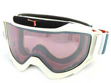 CEBE - LEGEND L ski snow Goggles WHITE-GREY-RED/ Rose Flash Mirror Cat.2 CBG44