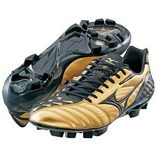 MIZUNO soccer shoes Spike WAVE IGNITUS 3MD P1GA1430 Gold X black