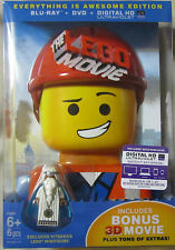 The Lego Movie: Everything is Awesome Edition! Blu-Ray + DVD + UV + 3D! New!