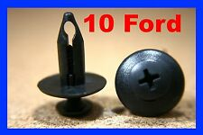 10 Ford wheel arch mud flap plastic fastener clips