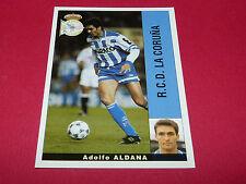 ADOLFO ALDANA RC DEPORTIVO LA CORUÑA PANINI LIGA 95-96 ESPANA 1995-1996 FOOTBALL