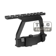 Tactical AK / SVD Quick Release Detach QD Side Railed Scope Mount Base Aluminum