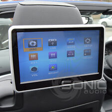 Universal Car HD Headrest DVD Player/Screen USB/SD Touch-Screen IR Headphones