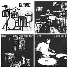 3 EPs by Clinic (1990s-2000s) (CD, Mar-2002, Domino) BRAND NEW SEALED