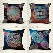 set of 4 mandala boho cushion covers throw pillow covers wholesale