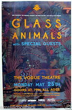 GLASS ANIMALS 2015 VANCOUVER CONCERT TOUR POSTER - Indie Rock, Psychedelic Pop