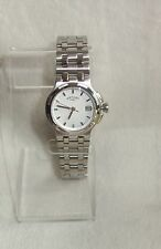 Rotary Women's Stainless Steal white dial Watch New