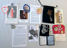 Relics & Sacramentals Package Rosary 2 Chaplets St Anthony Therese M D'Youville