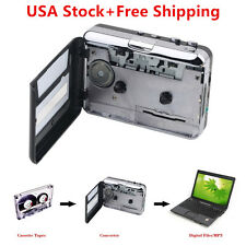 Tape to PC USB Cassette & MP3 CD Converter Capture Digital Audio Music Player E1