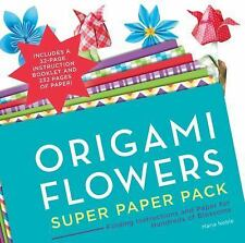 Origami Flowers : Super Paper Pack by Maria Noble (2015, Paperback)
