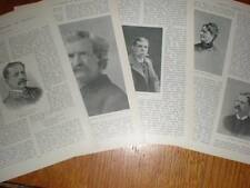 Article American Authors of Today by James Ramsay 1898