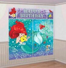 Little Mermaid Scene Setter Wall Decorating Kit - 671620