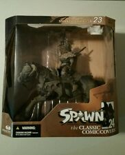 Mcfarlane Toys 2003 Spawn The Dark Ages Series i23 Comic Cover 24 Deluxe set