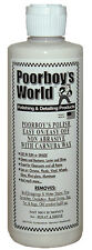 Poorboys World Polish With Carnauba Wax White 16oz