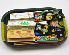 11 Pieces- 1 X Rolling Tray + 8 X Rolling Papers+2 X Paper Filter Tips