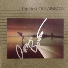 Rainbow - The Best Of Signed Autographed Cd