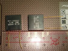 2 PIECES OF SOSHIN QS11 100nF 0.1uF 50V 0.5% PRECISION CAPACITOR