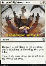 2x Surge of Righteousness (Wucht der Rechtschaffenheit) Dragons of Tarkir Magic