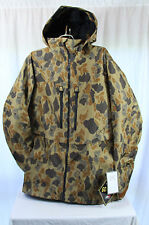 New 2014 Mens Burton AK Stagger Insulated Snowboard Jacket Large Duck Camo