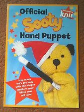 KNITTING PATTERN Official Sooty Hand Puppet Fun Crochet Pattern FREE POSTAGE