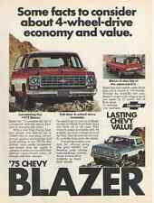 1975 Chevy Blazer Ad - Must See !!