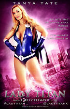 Tanya Tate as Lady Titan 11X17 Movie Style Poster Signed For You By Tanya Tate