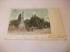 sehr alte Postkarte Ansichtskarte Karte Tilburg Monument Willem II. 1901