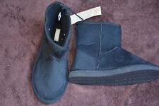 New RIVERS SHAGGERS SHUGG BOOTS. MENS Size 8. Microsuede Black RRP$49.99