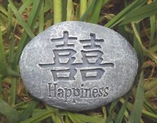 """latex oriental happiness rock casting garden mould 3.5"""" x 2.5"""""""