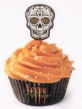 Skull Day of the Dead Halloween Cupcake Combo Pack from Wilton #3178 - NEW