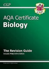 AQA Certificate Biology Revision Guide (with Online Edition) (A*-G Course) by...