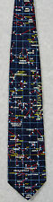 CONSTELLATIONS STAR CHART MAP SPACE ASTRONOMY Museum Artifacts Silk Necktie NEW!