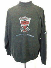 Vintage football mens Liverpool Carlsberg 100 year 1992 sweater green size XL