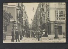 2231.-CADIZ -861 Calle Ancha (1911) (enviada a Brescia)
