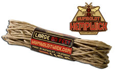 Organic Humboldt Hemp Wick 20 feet - 1mm - Hempwick Lighter