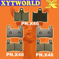 Front Rear Brake Pads Honda CB400 CB 400 Superfour NC39