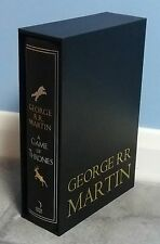 A Game Of Thrones 20th Anniversary Illustrated Edition, George R R Martin Signed