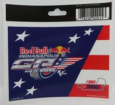 2015 Red Bull Indianapolis Grand Prix Motorcycle Race Event Decal Indy