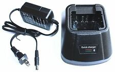 Charger for KENWOOD KNB15A TK260/360/370,TK2100/3100/3101 Batteries