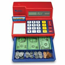 Learning Resources Pretend and Play Calculator Cash Register 3+ LER2629