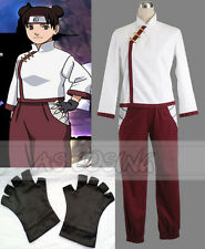 Anime Naruto Cosplay Tenten Costume Full Set Halloween Women Dress Custom-Made