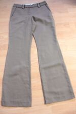 BODEN  light brown flared cotton/ linen trousers 8L  NEW