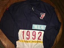 Polo By Ralph Lauren Vintage 1992 Stadium Plates Jacket XL  RARE