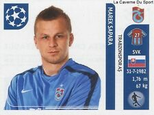 N°134 MAREK SAPARA # SLOVAKIA TRABZONSPOR STICKER CHAMPIONS LEAGUE 2012