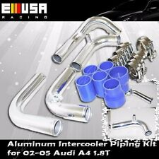 Intercooler Piping+Silicones+Clamps for 02-05 Audi A4 1.8T B6 FMIC Upgrade