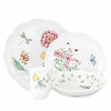 Lenox Butterfly Meadow 32Pc Dinnerware Set, Service for 8